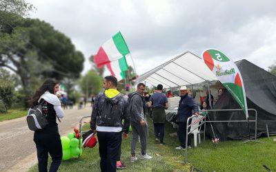 Comunicato stampa, la Pedagnalonga alla Maratona Maga Circe per curare il ristoro del passaggio ai 21 km. Fioriello: «Hanno aderito con il solito entusiasmo al nostro evento da record»
