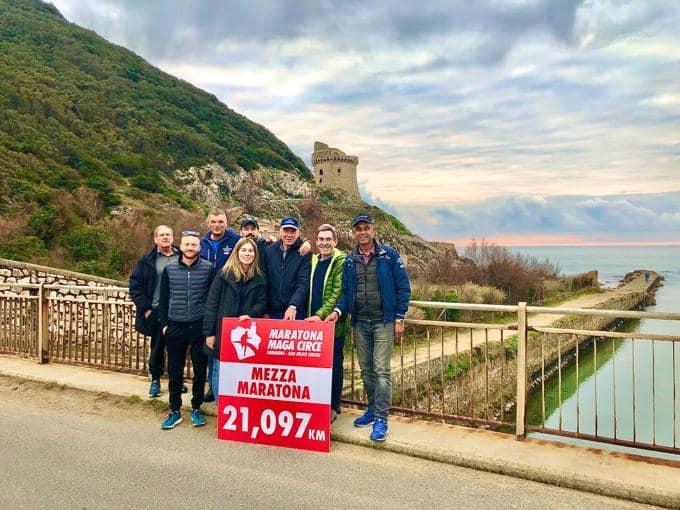 Gran Premio della Pedagna! Pronti per il ristoro del 21° km alla Maratona Maga Circe