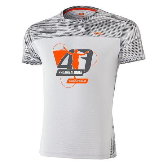 Vi presentiamo #P47 la maglia dei partecipanti alla corsa podistica di 21 km della Pedagnalonga di Borgo Hermada